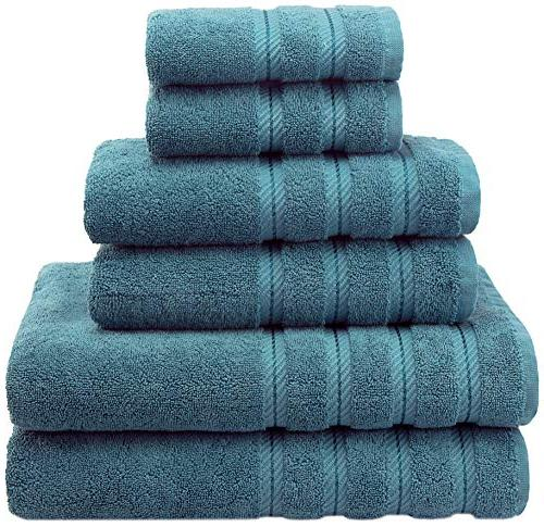 American Soft Linen Premium, Luxury Hotel & Spa Quality, 6 P
