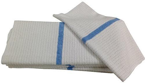 Nouvelle Legende 14 X 18in Ribbed Bar Mop Microfiber Towels
