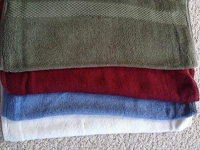 Bamboo Towel Set of 3 - Bath,Hand,Face 100% Bamboo Fiber NEW