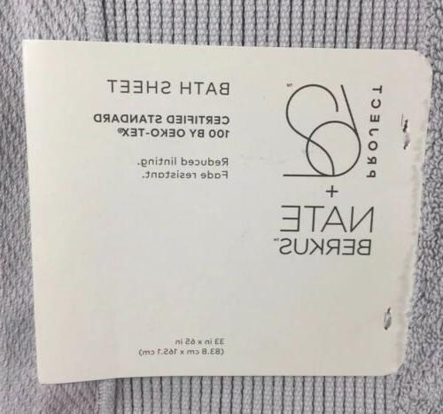 Bath Towel Project 62 Berkus Solid Drizzle Gray x