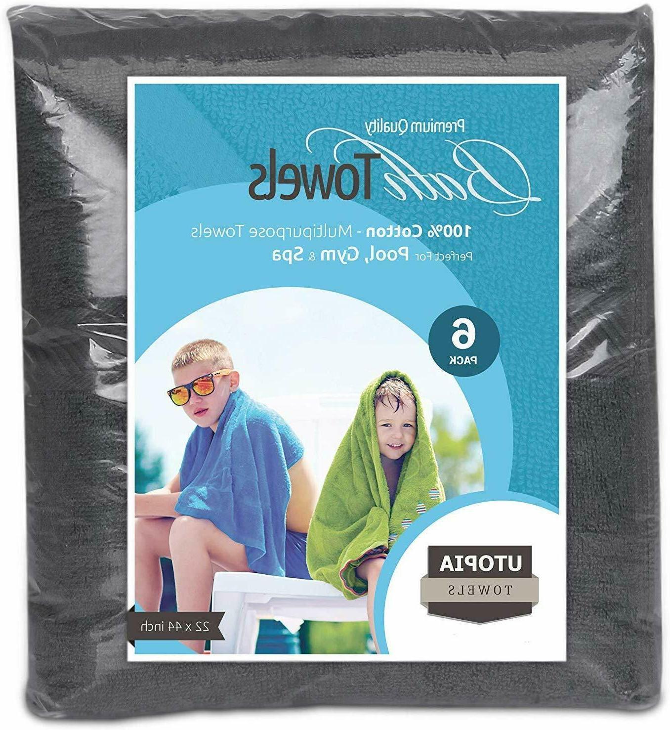 6 22x44 Wholesale Lot Also Towels