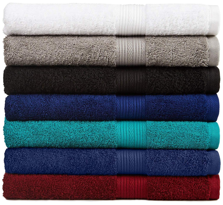 bath towel 6 piece set bathroom towels