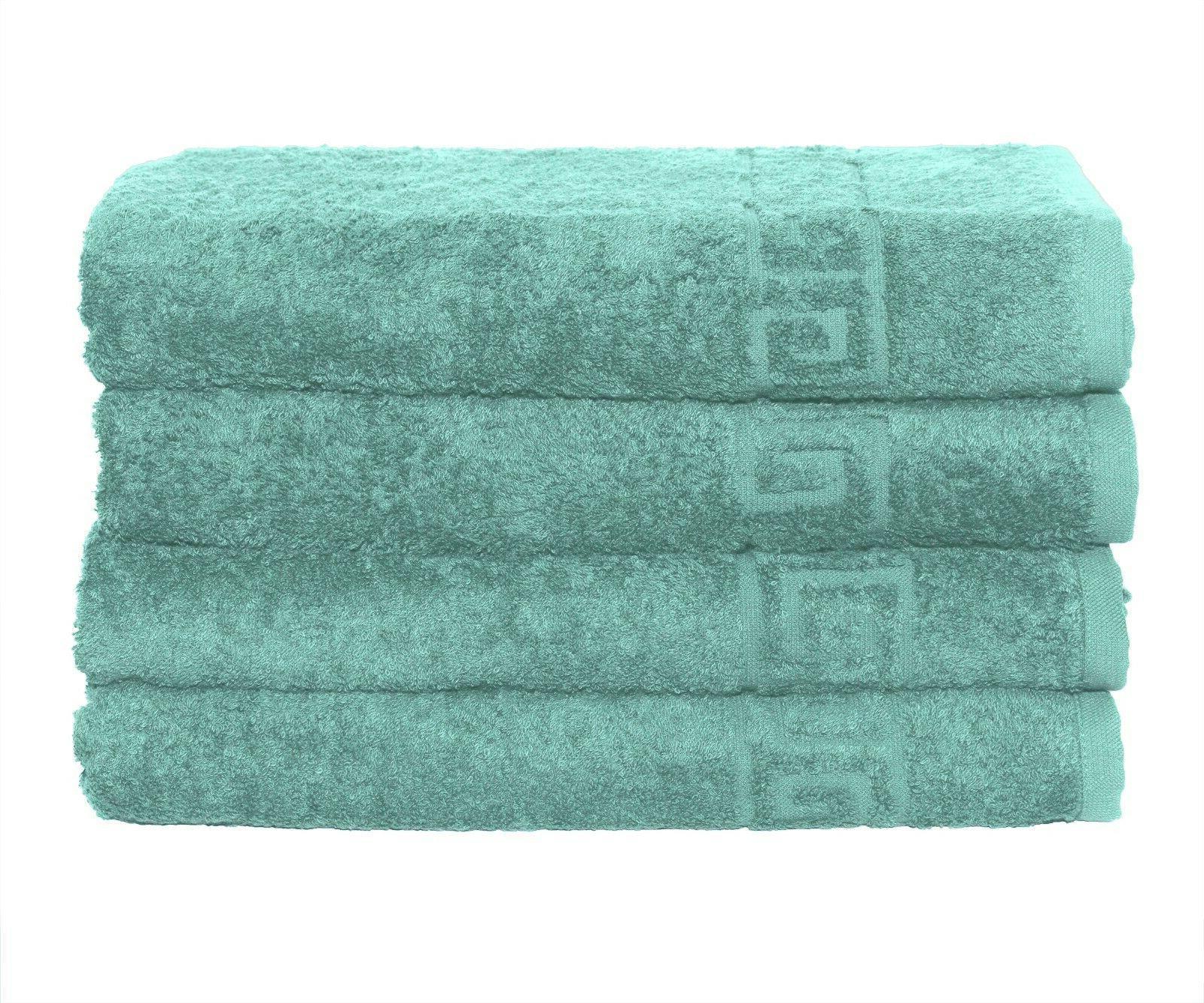 Bath Towel Cotton 4 28x56 Inch 500GSM Absorbent Contex