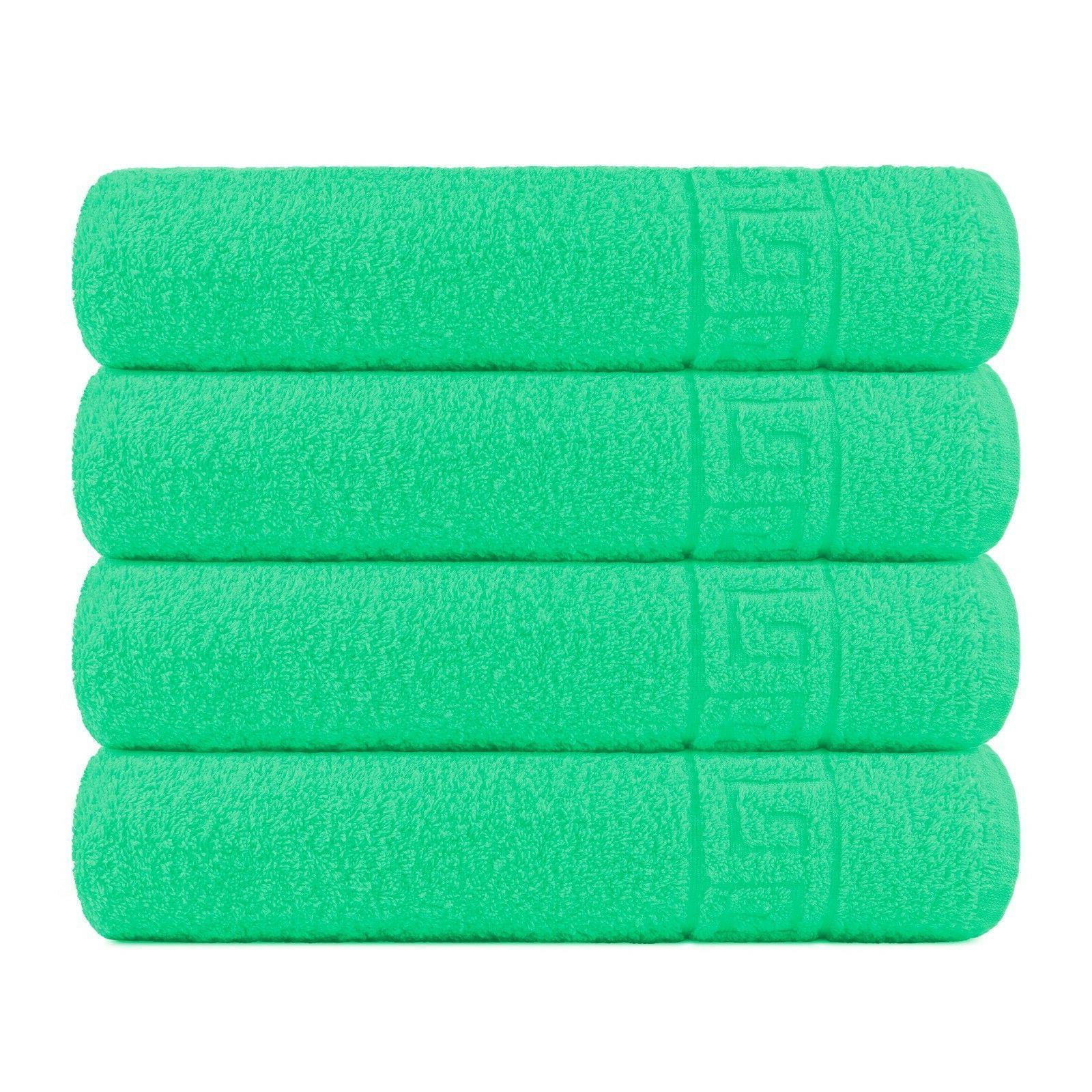Bath Towel Cotton 4 Pcs Towels Inch Extra Absorbent Contex