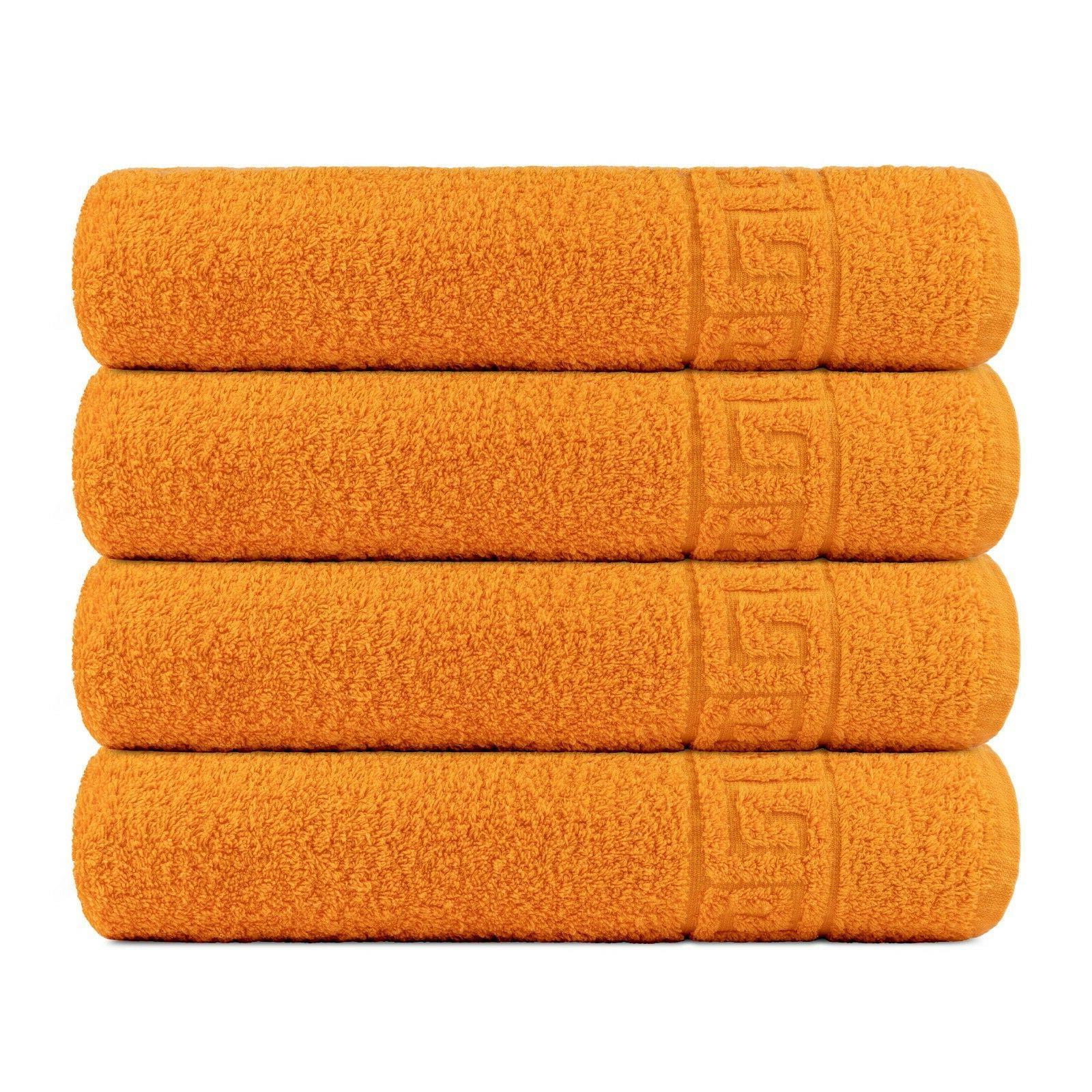 bath towel cotton set 4 pcs towels
