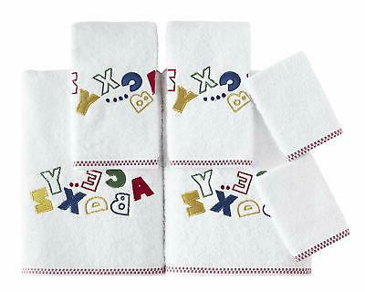 Salbakos Bath Towel Set For Girls W Bath Towels & Washcloths
