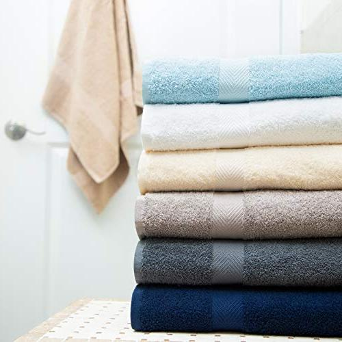Cotton Pack Multi Towels Cotton Light – Quick Highly Absorbent White,