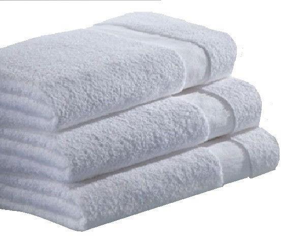 bath towels-ga brand-24x48 inches-white- lbs cotton