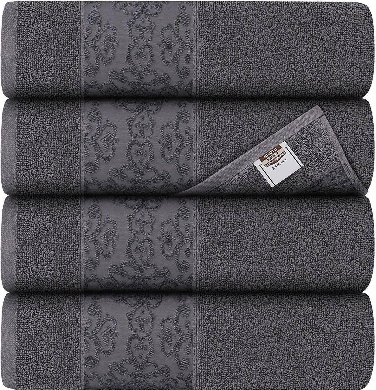 Bath 4 Pack Towel Set 27 54 600 Utopia