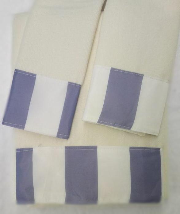 Beach Dolphin Blue 3-Piece Decorative Bath Hand Towel Set Ba