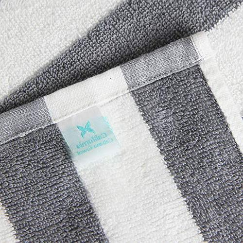 """Arkwright California Oversized Beach Set of Four Large 30"""" 