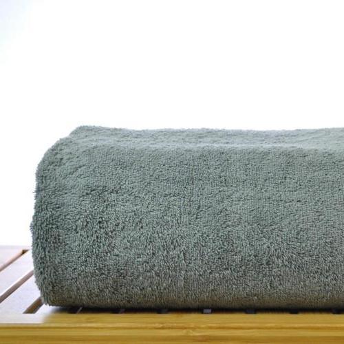 Chakir Cotton - Oversized Bath Towel, Gray