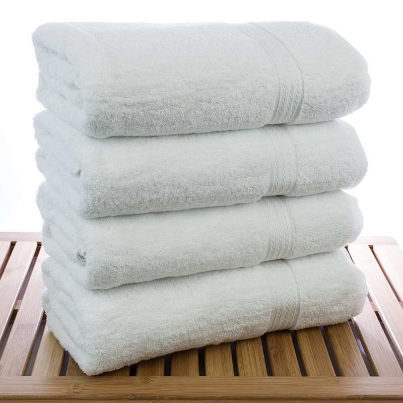 Chakir Turkish Linens Hotel Spa Bath 100% Dobby