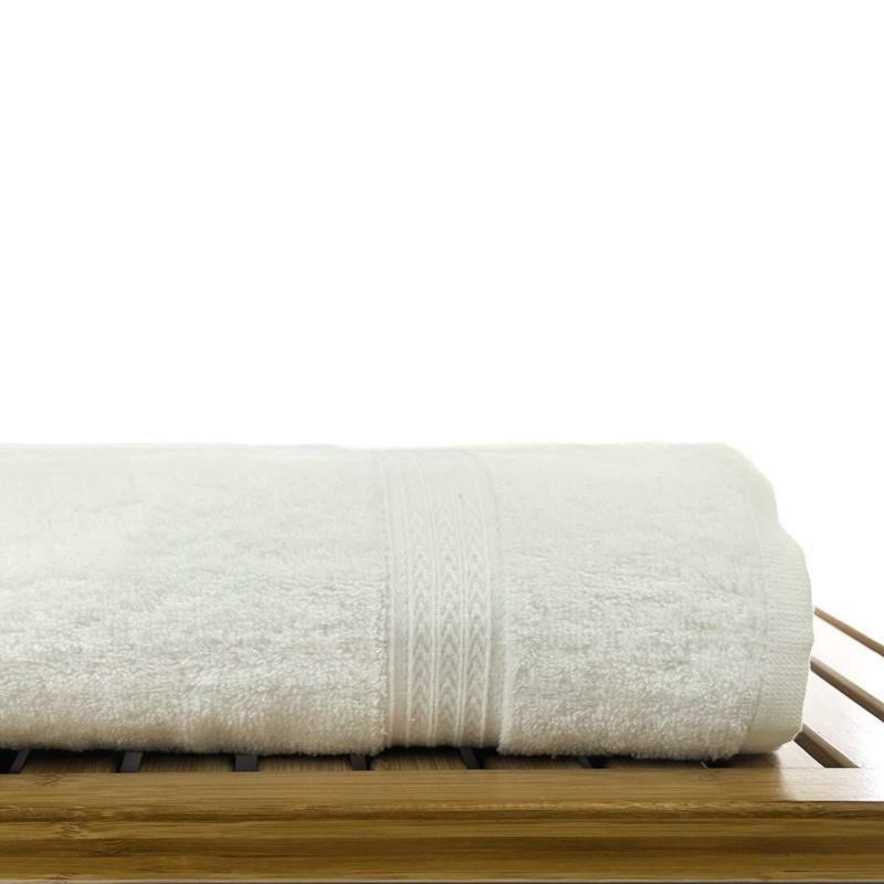 Chakir Turkish Linens Hotel Bath Towels 100% Cotton (W