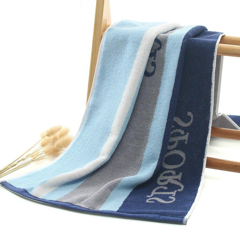 Cotton Sports <font><b>Washcloth</b></font> <font><b>Bath</b></font> Bathrobe Sauna Yoga Gym Winter