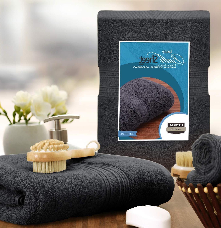 "Extra Bath 35x70"" Luxury Sheet 700 GSM Towels"
