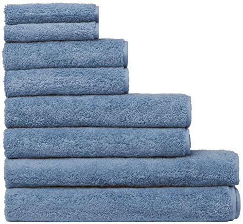Fast Extra Bath Towel Decorative & Cotton Towels - & Hotel Quality 8 2 Bath Sheets - Blue