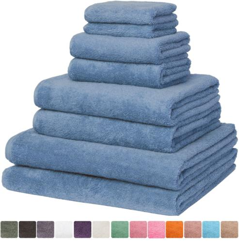 Bath Towel & Premium Cotton - Spa & Hotel Quality - 8 2 Oversized Bath