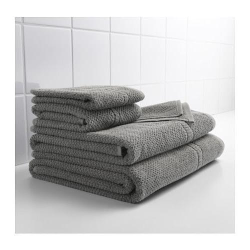 IKEA FRAJEN POPULAR GRAY BATH TOWELS asst'd sizes 100% cotto