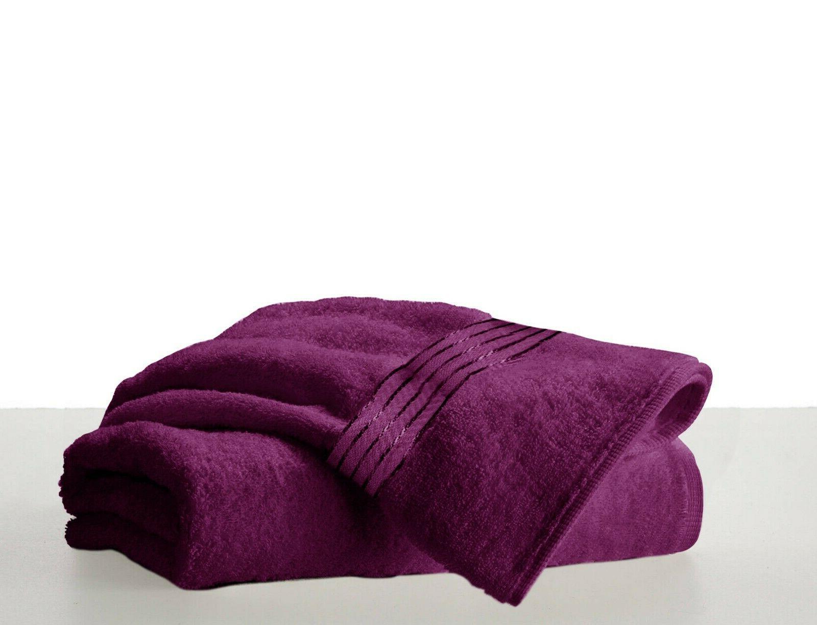 Luxury Towels Packs Sets Cotton Soft Grey