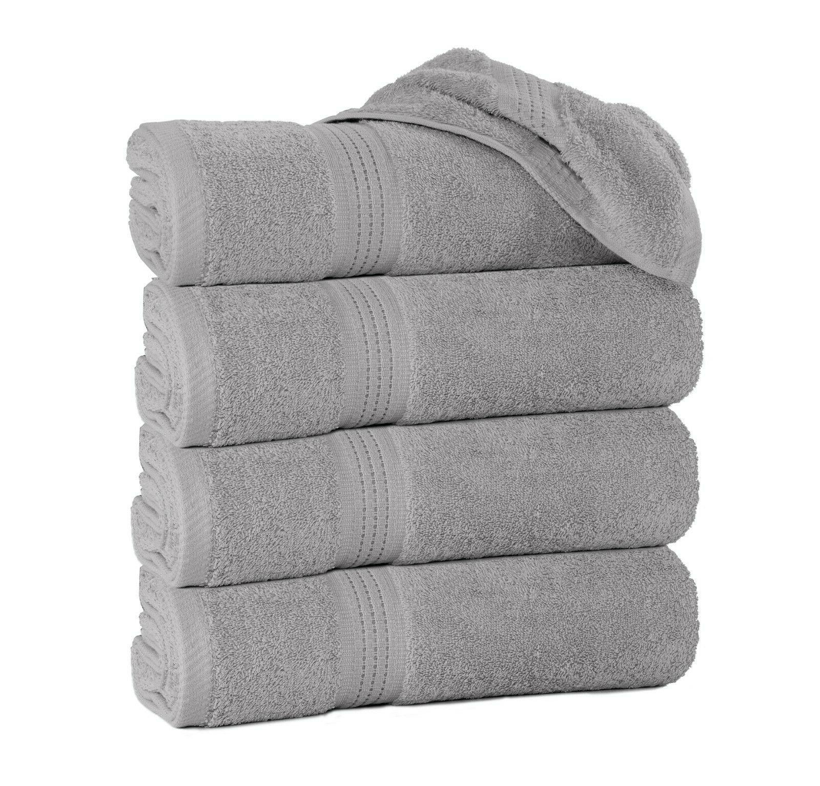 grey large bath towels packs sets 100