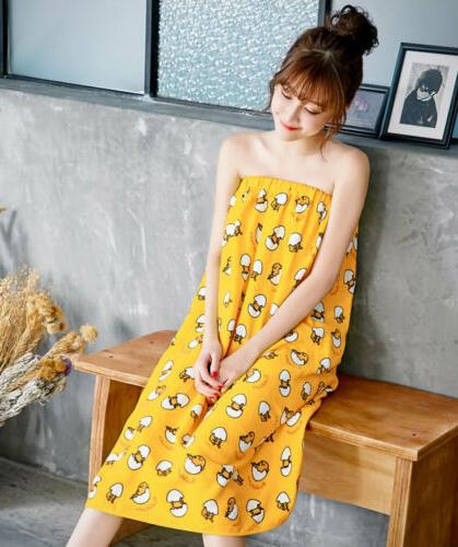 Sanrio Gudetama Egg Spa Wrap Towel Bathrobes Bath Skirt 90x1