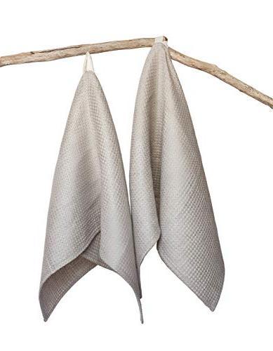 handmade organic linen dish cloth