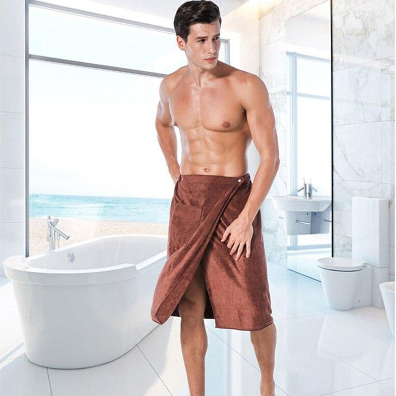 Hot New Fashion Man Wearable Magic <font><b>Bath</b></font> <font><b>Towel</b></font> Soft Swimming Beach <font><b>Towel</b></font>