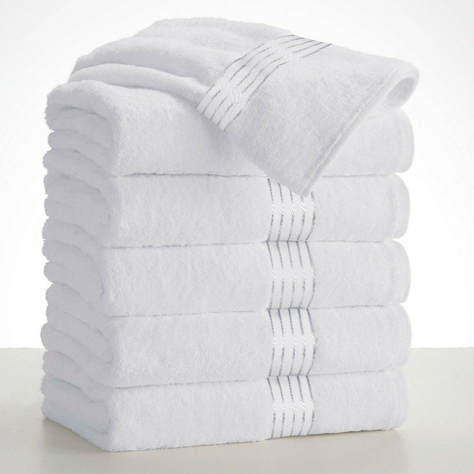 """Large Bath Towel Packs Sets Sheets 100/% Cotton 27/""""x58/"""" 450 GSM Highly Absorbent"""