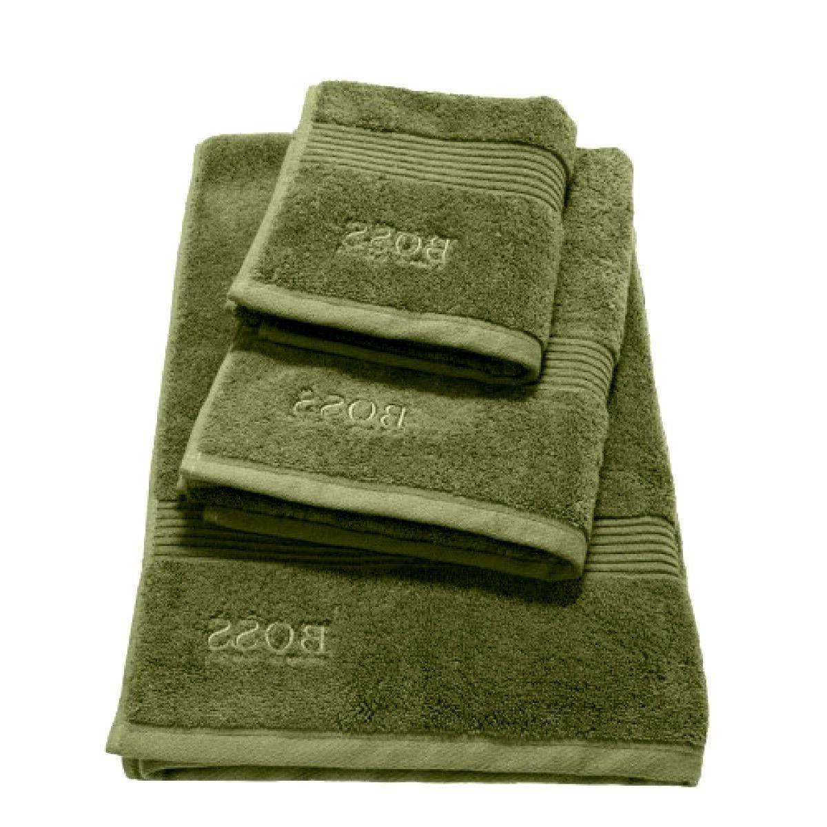 HUGO BOSS LOFT SOLID COTTON BATH / GUEST TOWEL IN MULTIPLE C