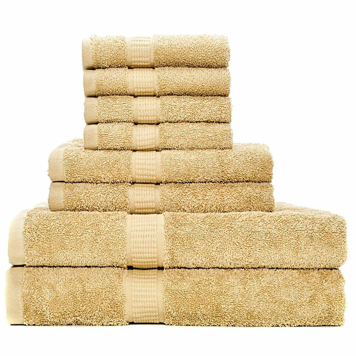 luxury bath towels gift set