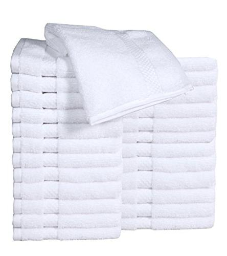 luxury cotton washcloth towel set