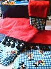 Mickey Mouse Towels Red Disney Themed Six Pieces Mainstays H