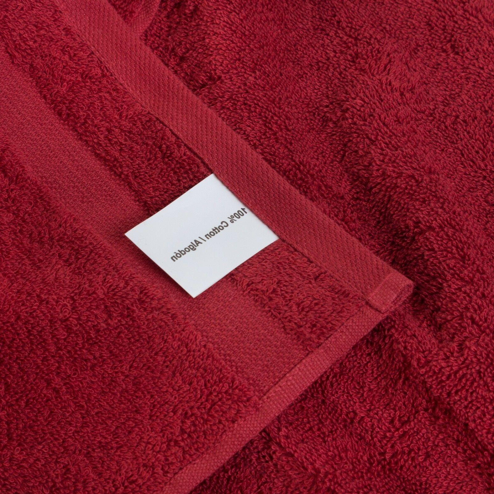 NEW BURGUNDY Color SUPER SOFT LUXURY TURKISH 100% BATH