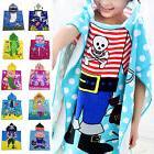 New Carton Hooded Baby Towels Kids Bathrobe Bath Towel Infan