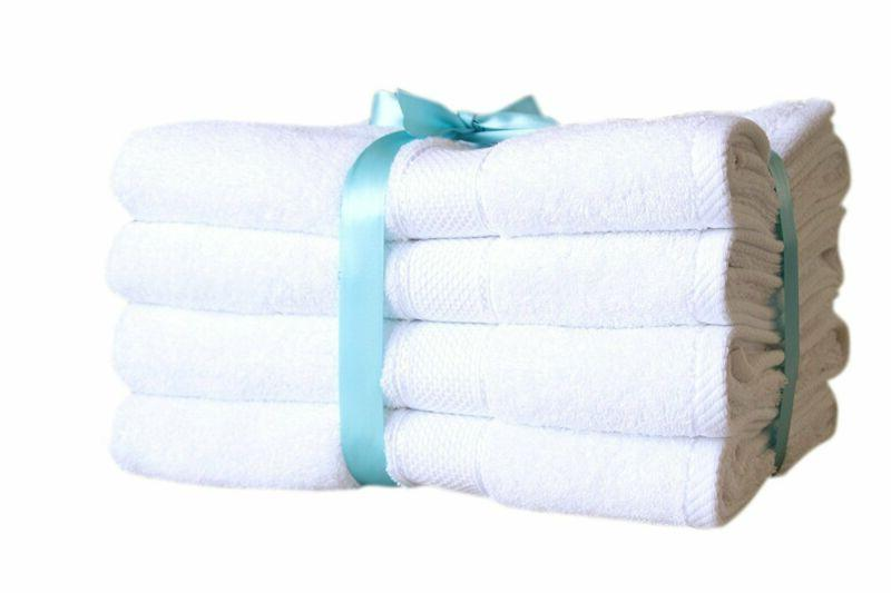 new premium bamboo cotton bath towels natural
