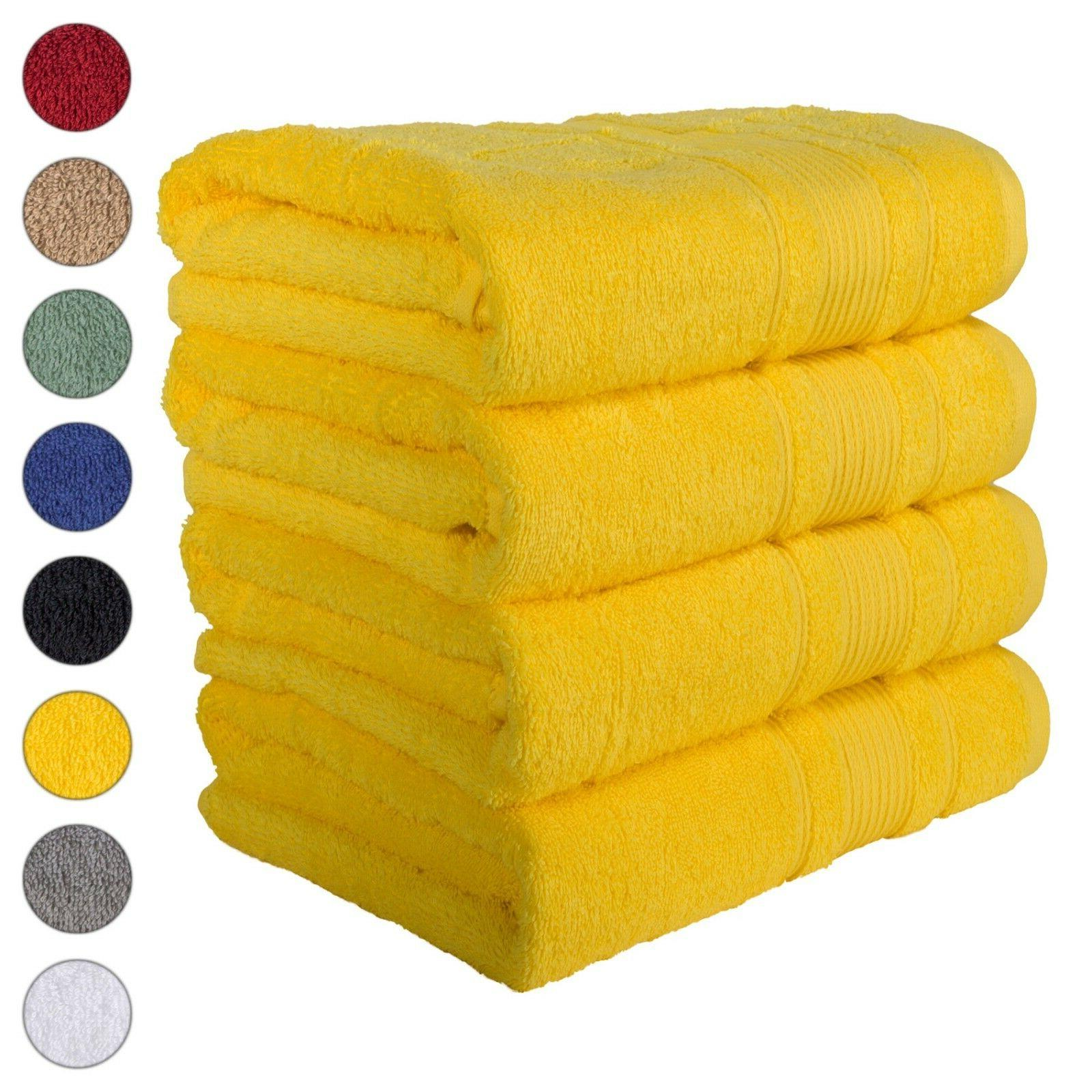 NEW YELLOW Color ULTRA SUPER SOFT LUXURY PURE TURKISH 100% C