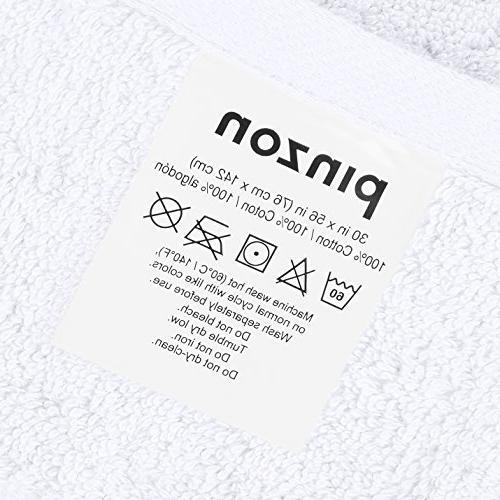 Pinzon Pinzon Organic Cotton Towel White