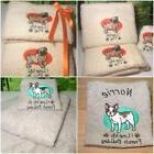 Personalised Towels, Cute dog designs FREE! facecloth with H