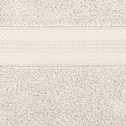 Pinzon Pinzon 6 Piece Cotton Bath Towel Ivory 90-3615-107