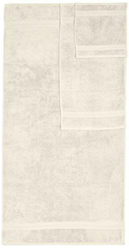 Pinzon by Amazon 6 Piece Pima Cotton Bath Towel Ivory