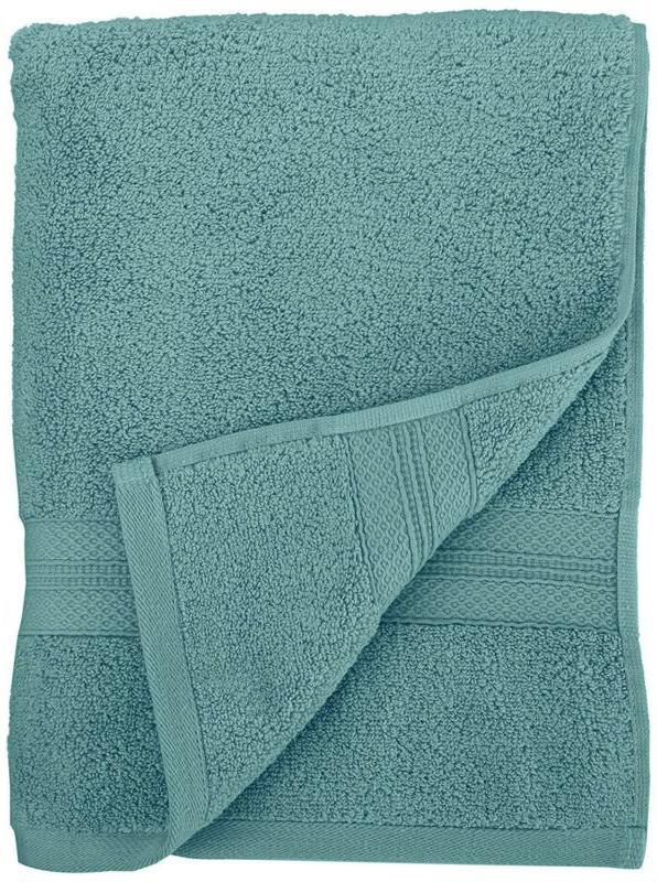 Pinzon Twist Pima Cotton 650-Gram 6-Piece Towel Set, Mineral Green
