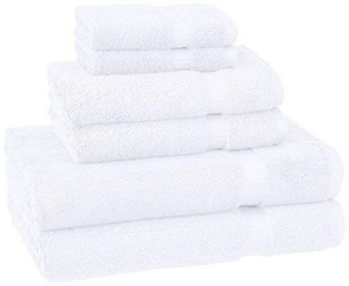 Pinzon by Amazon Pinzon Organic Cotton Towels 6 Piece Set, W