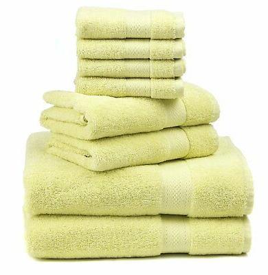 """Premium 8-Piece Towel Bath Towels 30"""" X 2 Towels .."""