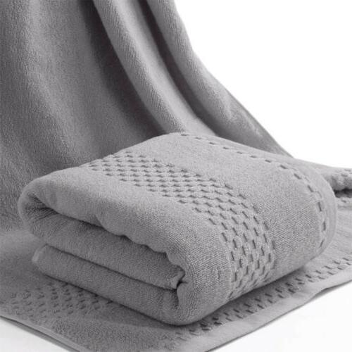 Premium Egyptian Cotton Towels Ultra Plush Absorbent Large Bath