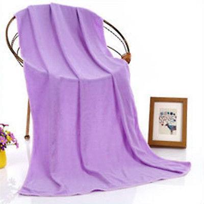 Quick-Dry Large Bath Towel Microfiber Sports Beach Swim Trav
