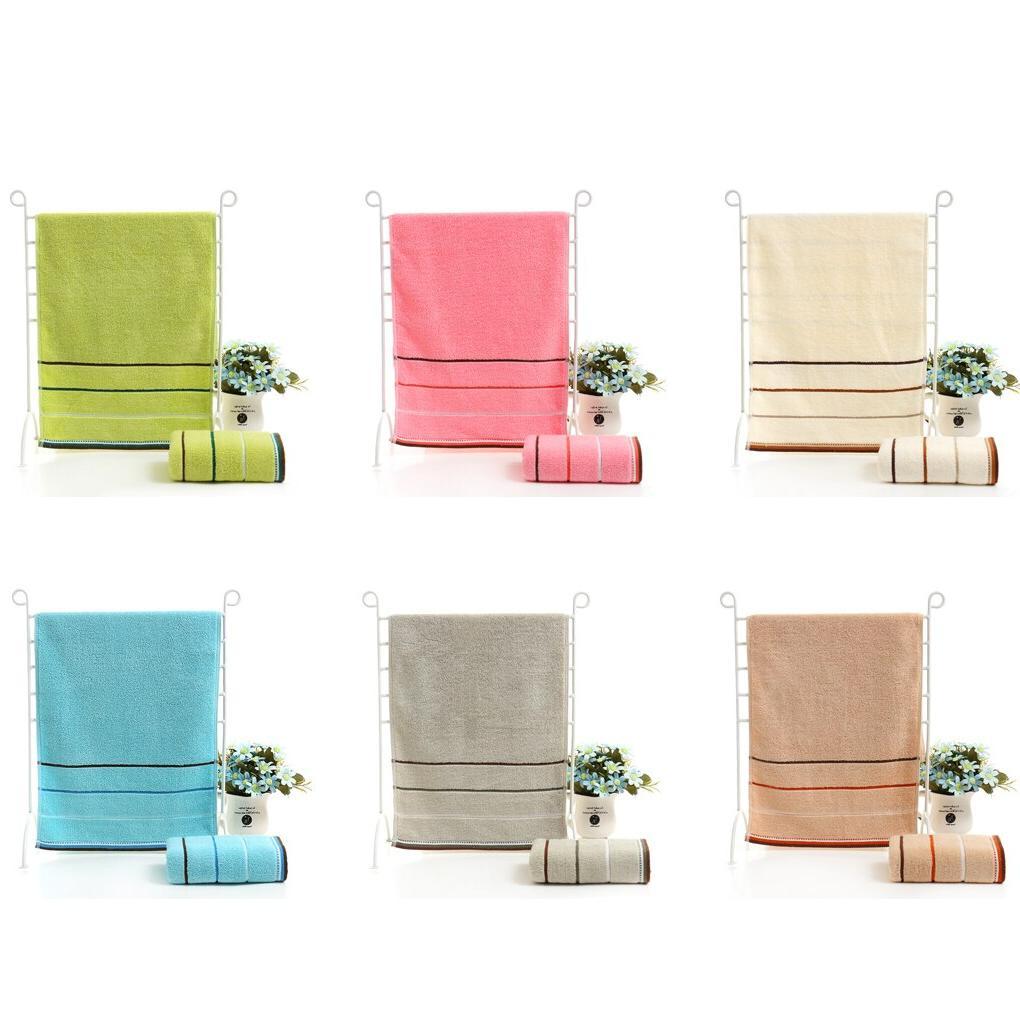 Quick Drying Stripe Face Hand <font><b>Bath</b></font> Cloth Absorbent /25*50cm Gift