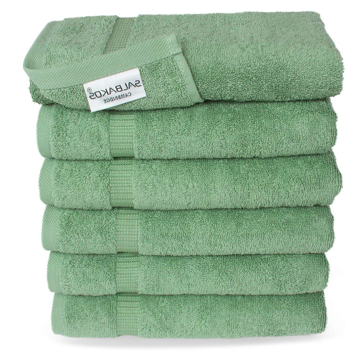 salbakos hand towels for bathroom white cotton
