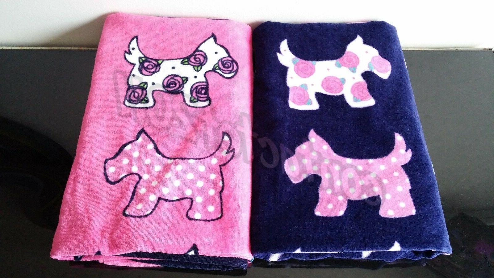 SCOTTIE DOG Kid's Beach Towel Collection Towels 100% Cotton
