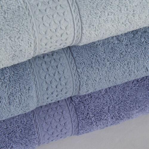 """Set Large Cotton Bath Towel Gym 28x55"""""""